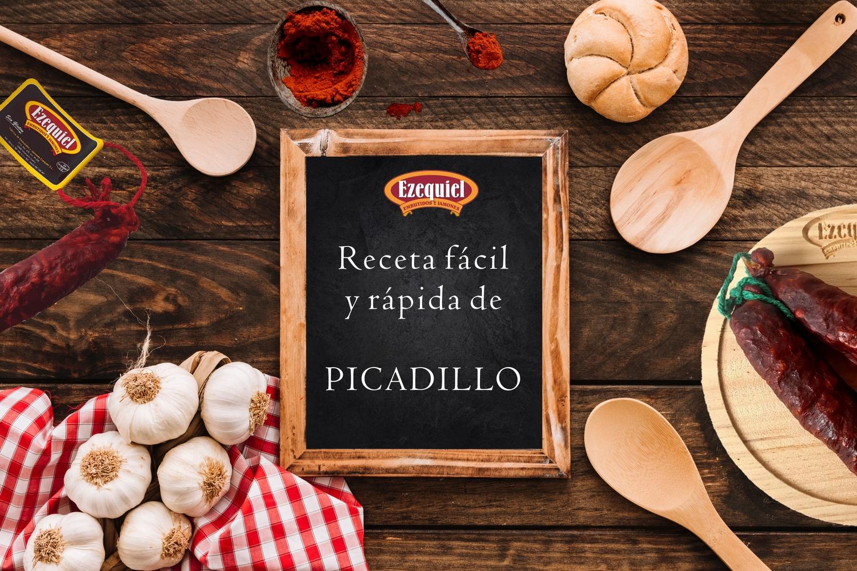 Receta Fácil y Rápida de Picadillo